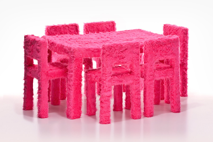 Love, Affection, Confidence – Anti-functional furniture (2013)